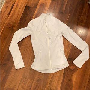 Lulu lemon white jacket